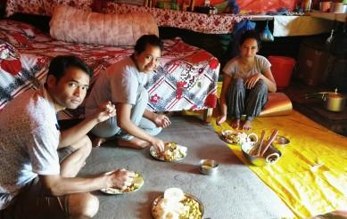 Dahl bhat breakfast